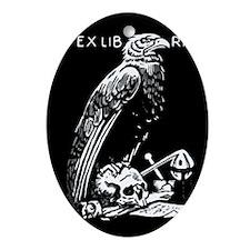Libris Eagle Oval Ornament