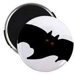 Gothic Black Bat Magnet