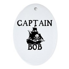 Captain Bob Ornament (Oval)