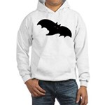 Gothic Black Bat Hooded Sweatshirt