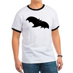 Gothic Black Bat Ringer T