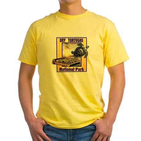 Dry Tortugas National Park Yellow T-Shirt