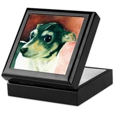 Classic Rat Terrier Keepsake Box