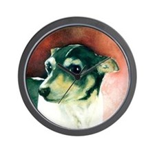 Classic Rat Terrier Wall Clock