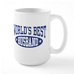 World's Best Husband Large Mug