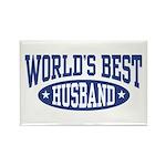 World's Best Husband Rectangle Magnet