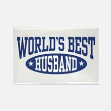 World's Best Husband Rectangle Magnet