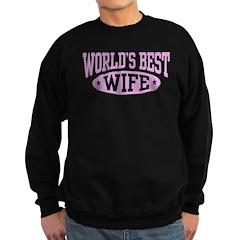 World's Best Wife Sweatshirt (dark)