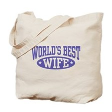 World's Best Wife Tote Bag