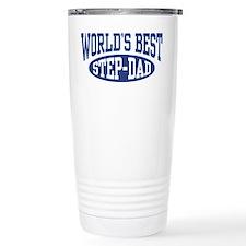 World's Best Step Dad Travel Coffee Mug