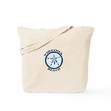 Virginia Beach VA - Sand Dollar Design Tote Bag