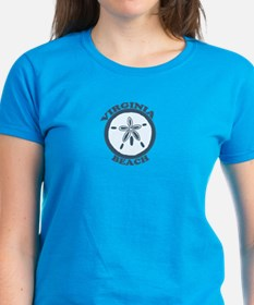Virginia Beach VA - Sand Dollar Design Tee