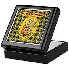 EDDIE ELEPHANT Keepsake Box