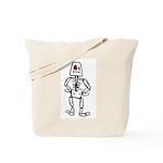 Retro Skeleton Tote Bag