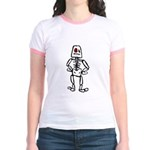 Retro Skeleton Jr. Ringer T-Shirt