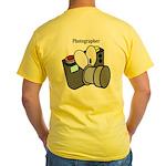 Photographer Yellow T-Shirt
