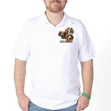 3 Beagles Golf Shirt
