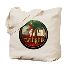 New Moon Santa Moon Tote Bag