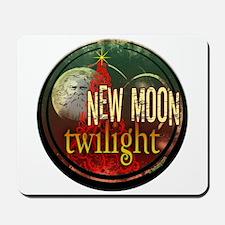 New Moon Santa Moon Mousepad