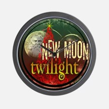 New Moon Santa Moon Wall Clock