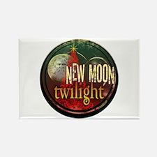 New Moon Santa Moon Rectangle Magnet