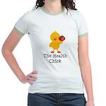 The Health Chick Jr. Ringer T-Shirt