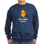 The Health Chick Sweatshirt (dark)