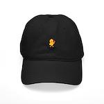 The Health Chick Black Cap