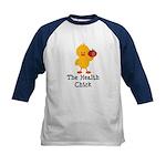 The Health Chick Kids Baseball Jersey