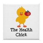 The Health Chick Tile Coaster