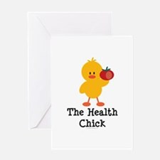 The Health Chick Greeting Card