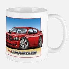 Red Dodge Charger Mug