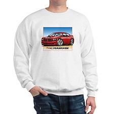 Red Dodge Charger Sweatshirt
