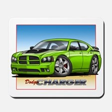 Sublime Green Charger Mousepad