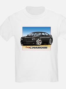 Black Dodge Charger T-Shirt
