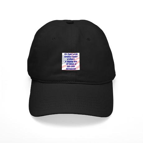 Ugly Little Bureaucrats Black Cap