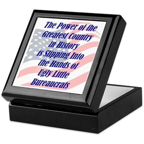 Ugly Little Bureaucrats Keepsake Box