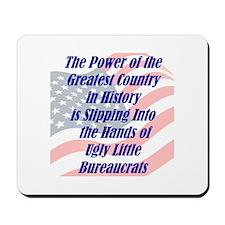 Ugly Little Bureaucrats Mousepad