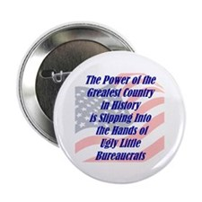 "Ugly Little Bureaucrats 2.25"" Button (100 pack)"