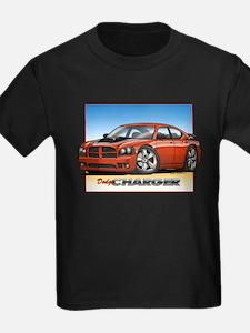 Orange Dodge Charger T