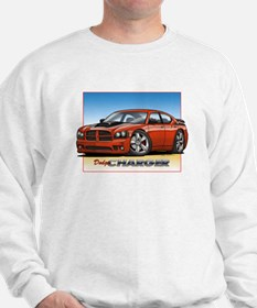 Orange Dodge Charger Sweatshirt