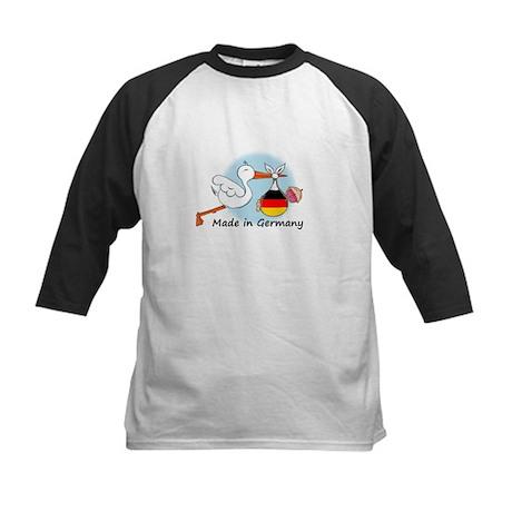 Stork Baby Germany Kids Baseball Jersey