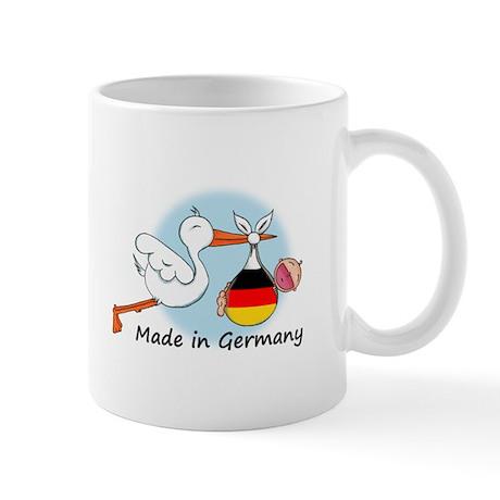 Stork Baby Germany Mug