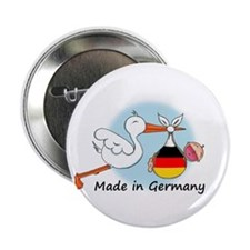 """Stork Baby Germany 2.25"""" Button"""