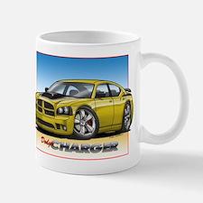 Yellow Dodge Charger Mug