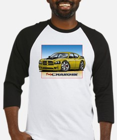 Yellow Dodge Charger Baseball Jersey