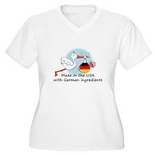 Stork Baby Germany USA T-Shirt