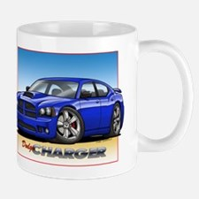 Blue Dodge Charger Mug
