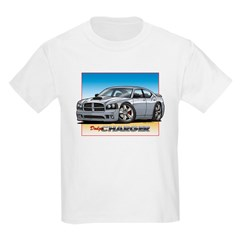 Silver Dodge Charger T-Shirt