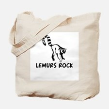 Lemurs Rock Tote Bag
